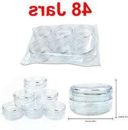 96 Pieces 10 Gram/10ML Makeup Lotion Cream Cosmetic Sample J