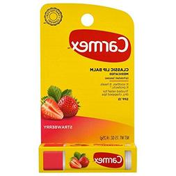 Carmex Daily Care Strawberry Flavor with SPF15 Carded Stick