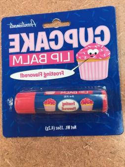 Delicious Cupcake Flavored Chapstick Lip Balm  FREE SHIPPING