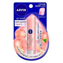 Delicious Drop Lip Balm SPF 11 PEACH VANILLA Flavor Chapsti