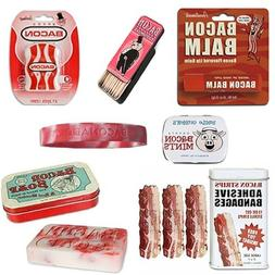 Bacon Addicts Deluxe Bacon Bath & Grooming Kit Gift Pack  -