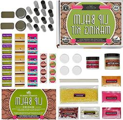 DELUXE Lip Balm Kit with Filling Tray,  For Making Your Very