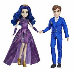 Disney Descendants 3 Royal Couple Engagement Ben & Mal Delux
