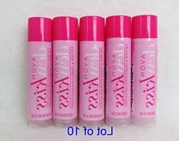 Avon Dew Kiss Lip Dew Lip Balm Lof of 10 New Packing