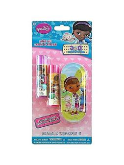 Disney Doc McStuffins Lip Balm Set with Mini Tin Carrying Ca