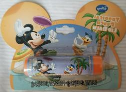 Disney Mickey Mouse lip balm on an Ear shaped Card~Tropical