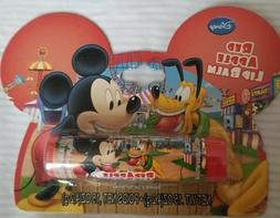 Disney Mickey Mouse lip balm on an Ear shaped Card~Red Apple
