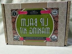 DIY LIP BALM MAKING KIT  Natural Organic Butters Oils Comple
