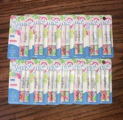 SOFTLIPS duo LOT 14 Packs - 28 Tubes Vanilla/Watermelon Lip