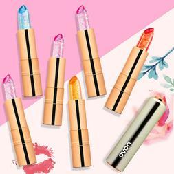 dv waterproof jelly color change lipstick long