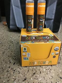 Eco Lips Mongo Kiss Lip Balm Vanilla Honey, 0.25 Ounces 2 pa