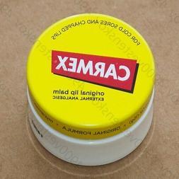 Carmex everyday healing lip balm jar Original for dry chappe