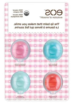 EOS Evolution of Smooth 4 Flavor Pack Smooth Sphere Lip Balm