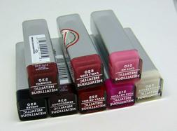 COVERGIRL EXHIBITIONIST Metallic Lipstick  0.12oz/3.5 Choose