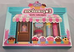 Almar Expressions CUPCAKE SHOP 5 Piece Girls Lip Balm Set Ne