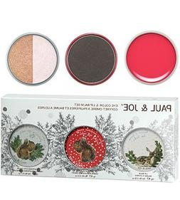 Paul and Joe Beaute Eye Color and Lip Balm Set 3 piece