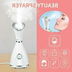 Face Steamer Mist Steam Moisturizing Facial Sprayer Spa Deep