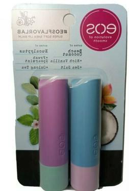 eos Flavor Lab Lip Balm Sticks - Salted Coconut & Eucalyptus