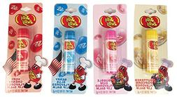 Jelly Belly Flavored Lip Balm 4 Pack Bundle, Buttered Popcor
