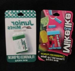 "Taste Beauty Flavored LIp Balm/Balms- ""JUNIOR MINTS AND /MIK"