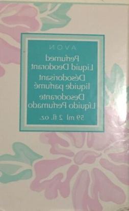 Avon Floral Scented Perfumed Liquid Deodorant 2 fl oz New In