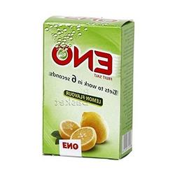 Eno Fruit Salt Antacid Powder - LEMON Flavor - 1 Carton - 5