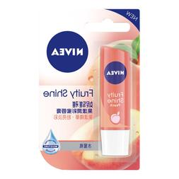 Fruity Shine PEACH Intensive Moisturizing Tinted Lip Balm 4