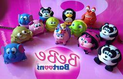 Bebe Bartoons Fun Lip Balm Collectible Animal Characters and
