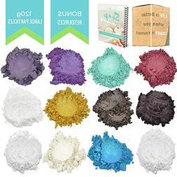 4 Oz Large Glitter Mica Powder - Angelic Seduction Soap Maki