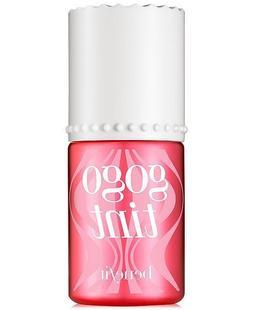 Benefit Gogo Go Go Tint Bright Cherry Lip Cheek Stain New .3