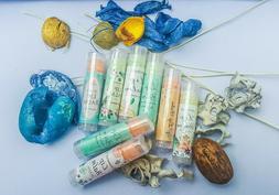 Handmade Organic Natural Lip Balm with Jojoba Oil Plain or C