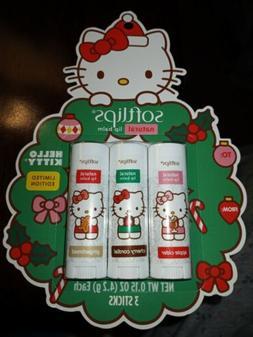 Hello Kitty Softlips Limited Edition Balm AppleCider CherryC