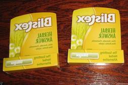 herbal answer lip balm 2 pack