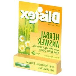 Blistex Herbal Answer Lip Balm Spf 15 .15oz