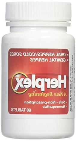 Herplex Herpes Treatment - Tablets for Herpes Outbreaks & Co