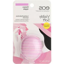 EOS Honey Apple Visibly Soft Lip Balm, 0.25 Ounce