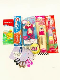 Huge Lot of Kids Toothbrushes Hair Clips LOL Charm Fizz Fing