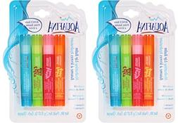 Aquafina Hydrating Lip Balm  4packs Total of 8 Sticks Lip Oi