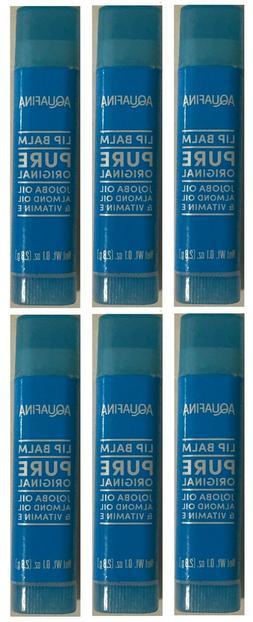 Aquafina Hydrating Lip Balm Moisturizer Original Jojoba Almo