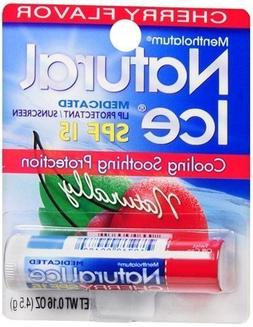 Mentholatum Natural Ice Lip Medicated Lip Balm SPF 15 - Cher