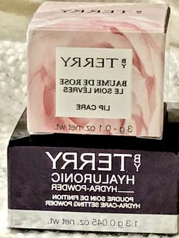BY TERRY Iconic Duo 🌹BAUME DE ROSE LIP BALM  + HYALURONIC