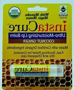 insta cure ultra moisturizing lip balm coconut
