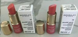 CLARINS instant light lip balm perfector 01 rose sample 0.03