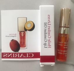 CLARINS instant light lip comfort oil 05 tangerine sample 2.