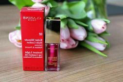 New Clarins instant light lip comfort oil 7ml 0.1oz #02 rasp