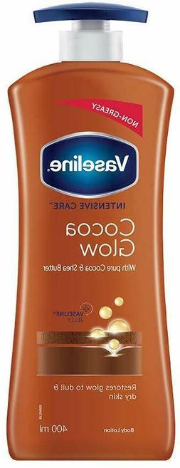 Vaseline Intensive Care Cocoa Glow Body Lotion With Pure Coc