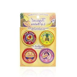 ISLAND SOAP AND CANDLE WORKS - 4 PACK NATURAL LIP BALM TINS