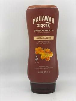 Hawaiian Tropic Island Tanning Lotion Sunscreen Cocoa Butter