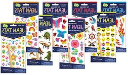 Peaceable Kingdom Jean Tats Giant Party Pack of Temporary Ta