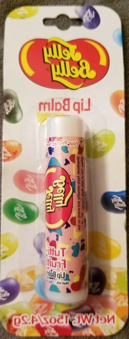 Jelly Belly, Tutti Frutti flavored Lip Balm, pink tube~RARE